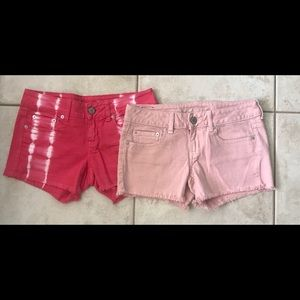 🌺 American Eagle Sz 4 Jean Shorts BUNDLE